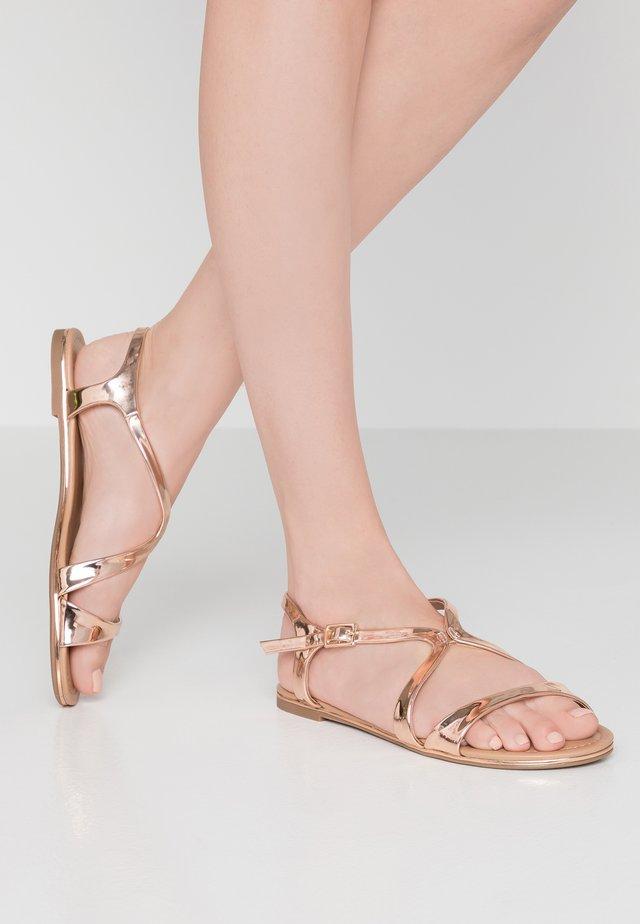 AGRULIA - Sandały - rose gold