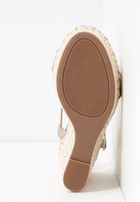 Call it Spring - ALEXEY VEGAN - Sandály na vysokém podpatku - champagne - 6