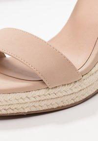 Call it Spring - ALEXEY VEGAN - Sandály na vysokém podpatku - bone - 2