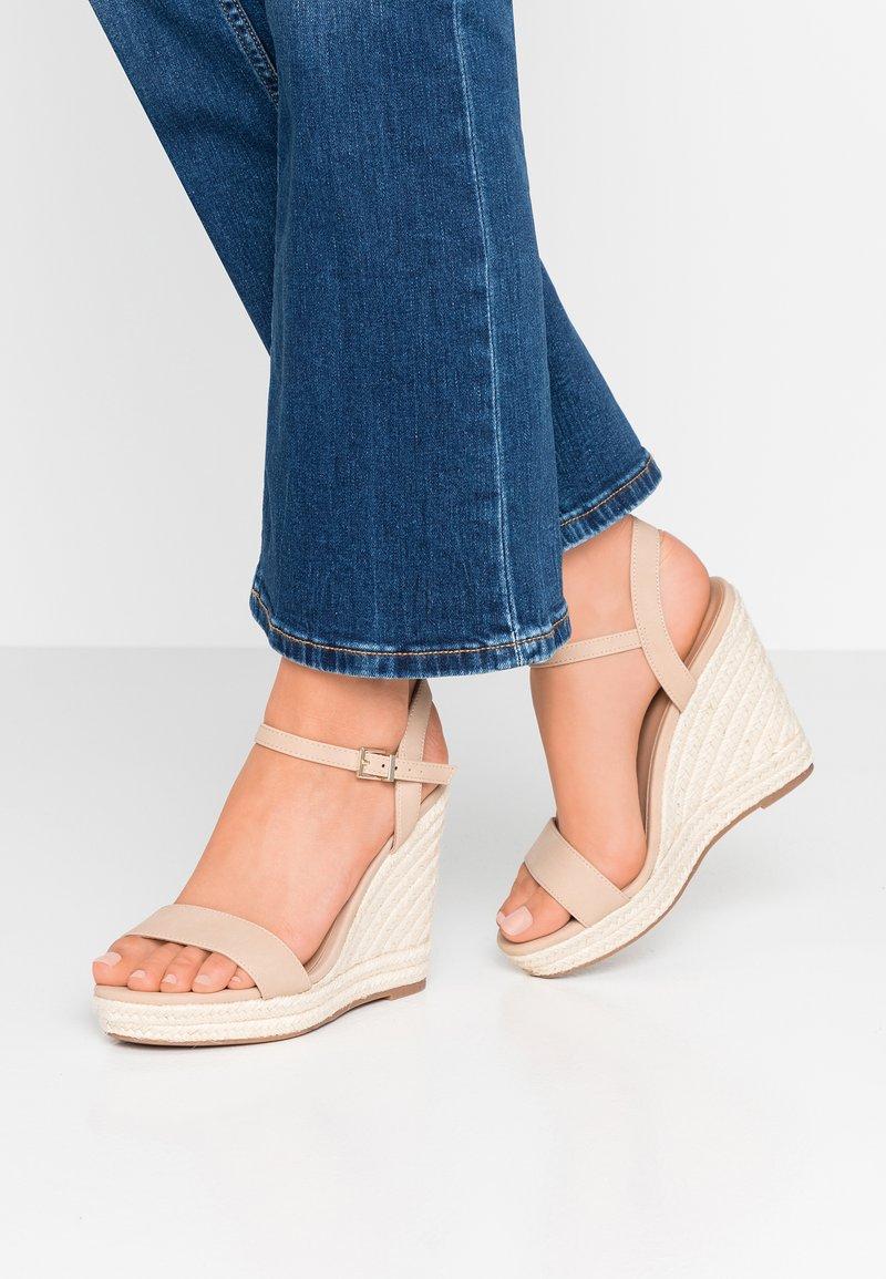 Call it Spring - ALEXEY VEGAN - Sandály na vysokém podpatku - bone