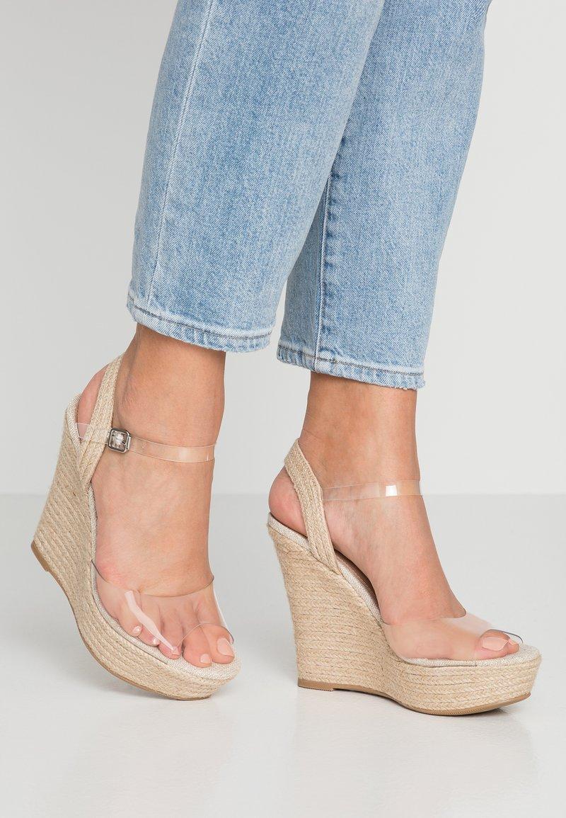 Call it Spring - SMETANINA VEGAN - High heeled sandals - bone
