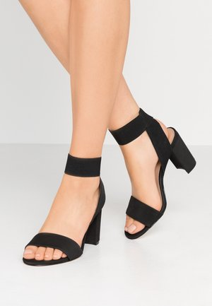 LUGUBROSA VEGAN - Sandalen met hoge hak - black