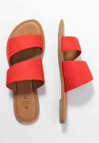 Call it Spring - BROSNA VEGAN - Mules - bright orange - 3