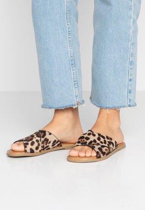 GRACILE VEGAN - Pantofle - brown/multicolor