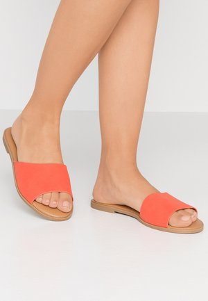 TAKAYA VEGAN - Mules - bright orange