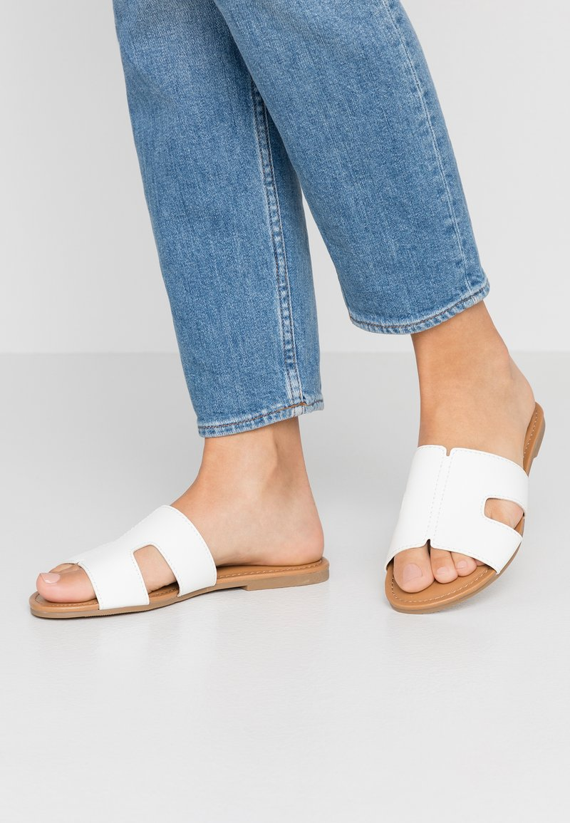 Call it Spring - TEMPERATE VEGAN - Pantolette flach - white