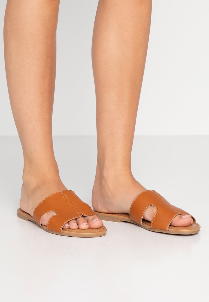 Call it Spring - TEMPERATE VEGAN - Mules - cognac