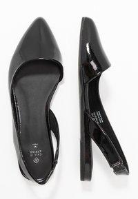Call it Spring - ELITE - Slingback ballet pumps - black - 3