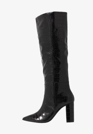 SILA - High heeled boots - black