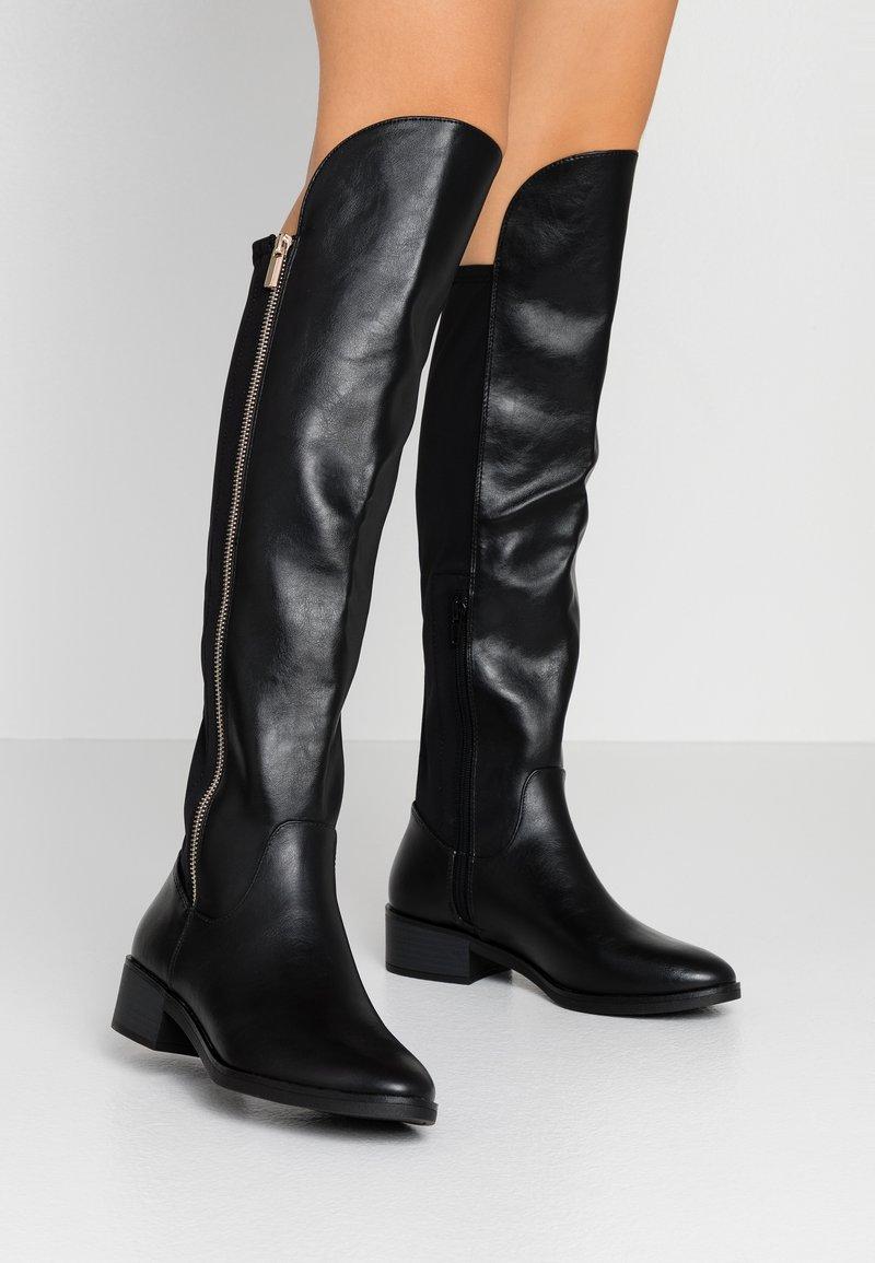 Call it Spring - DERRIS - Stivali sopra il ginocchio - black