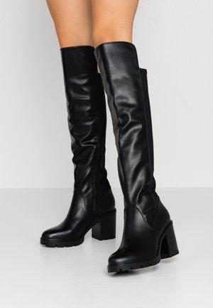 LIADIA - Boots med høye hæler - black