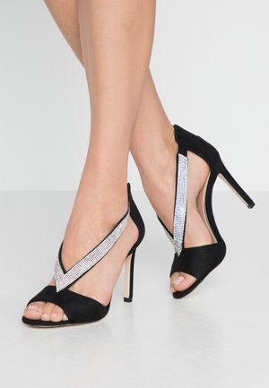 VIARIA - High heeled sandals - black