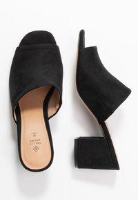Call it Spring - TARASA - Pantofle na podpatku - other black - 3