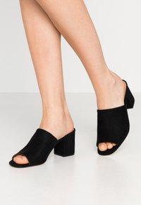 Call it Spring - TARASA - Pantofle na podpatku - other black - 0