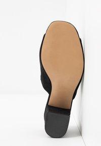 Call it Spring - TARASA - Pantofle na podpatku - other black - 6