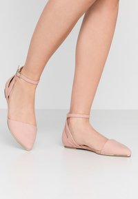 Call it Spring - CHARLOTE - Ankle strap ballet pumps - light pink - 0