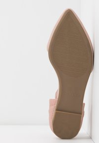 Call it Spring - CHARLOTE - Ankle strap ballet pumps - light pink - 6