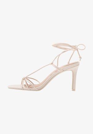 ALVERNA - Sandály na vysokém podpatku - light pink