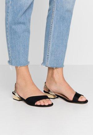 FURCATA - Sandals - black