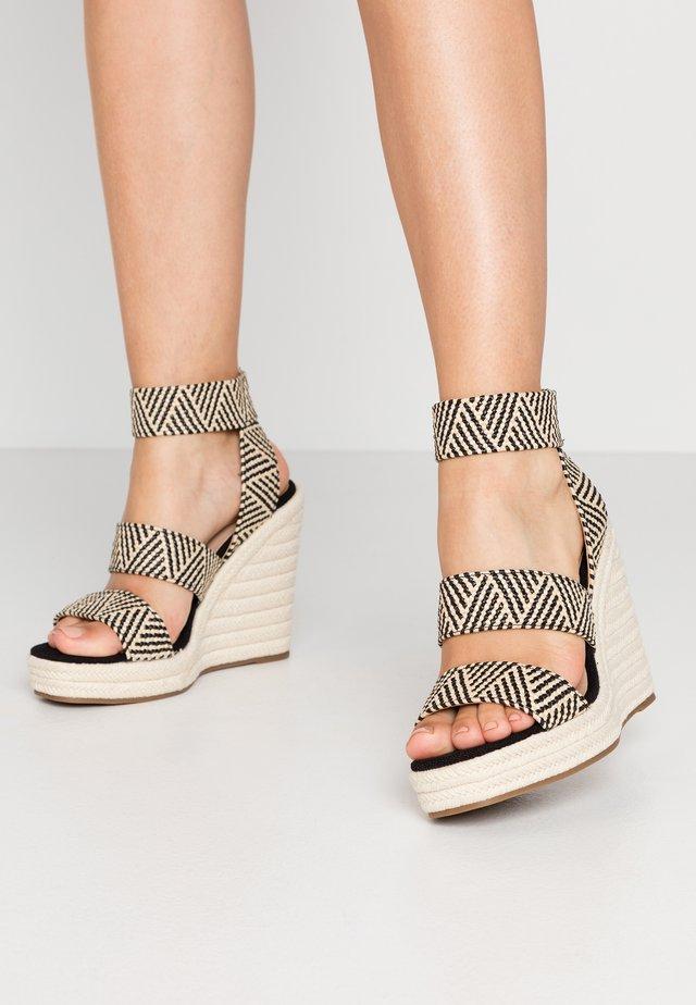 MARICHINI - Sandaler med høye hæler - black/multicolor