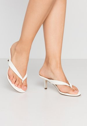 MYLA - T-bar sandals - white