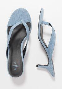 Call it Spring - MYLA - Sandály s odděleným palcem - medium blue - 3