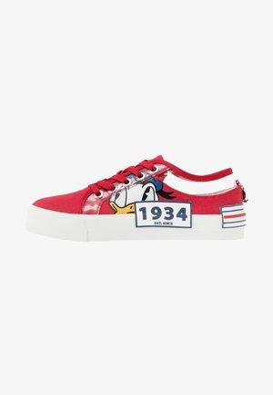 NAVIGATE - Sneakers laag - red