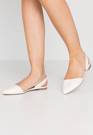 PIPPEN - Sandály - white