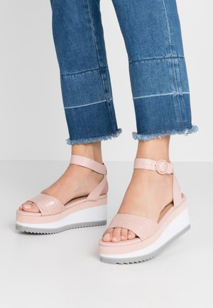 RILEYY - Platform sandals - light pink