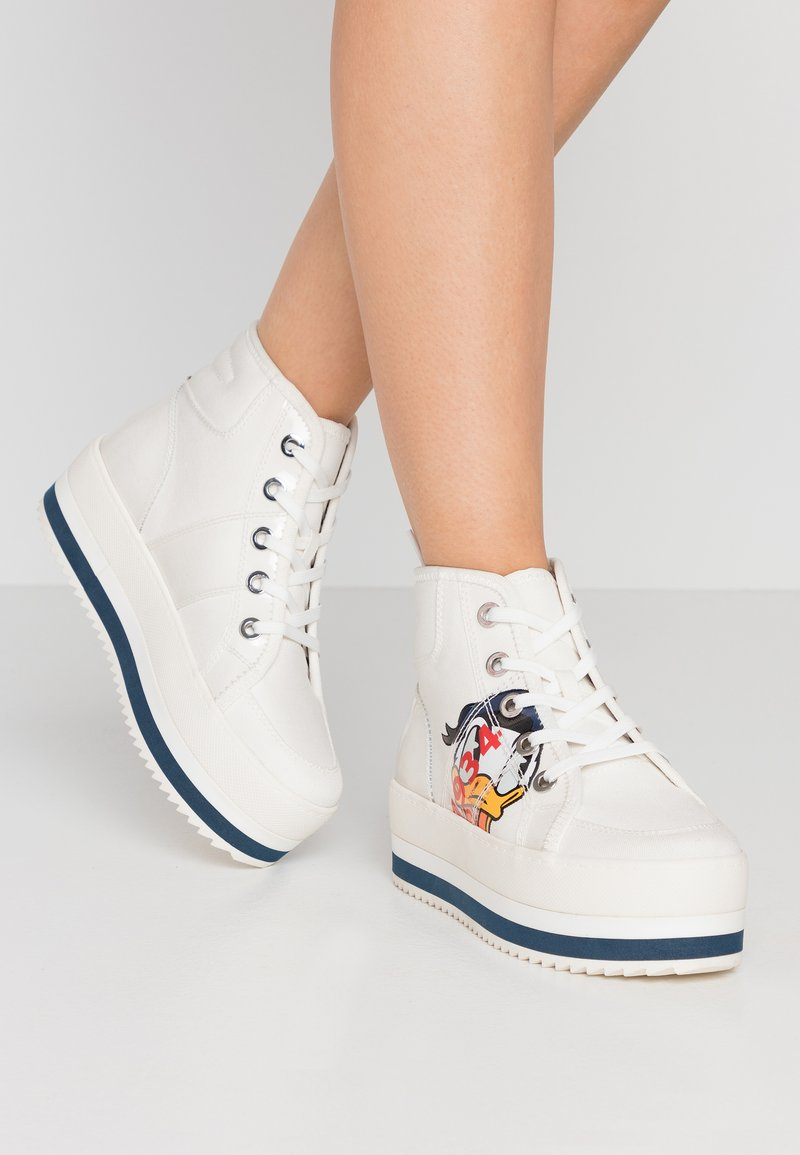 Call it Spring - SEASHORE - High-top trainers - white