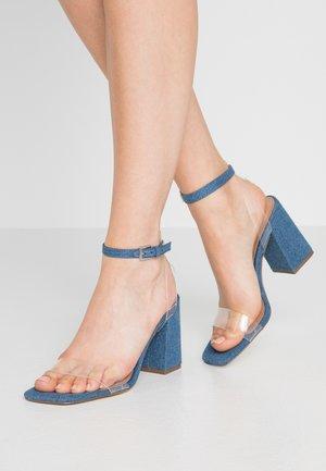 SYRE - Sandales à talons hauts - medium blue