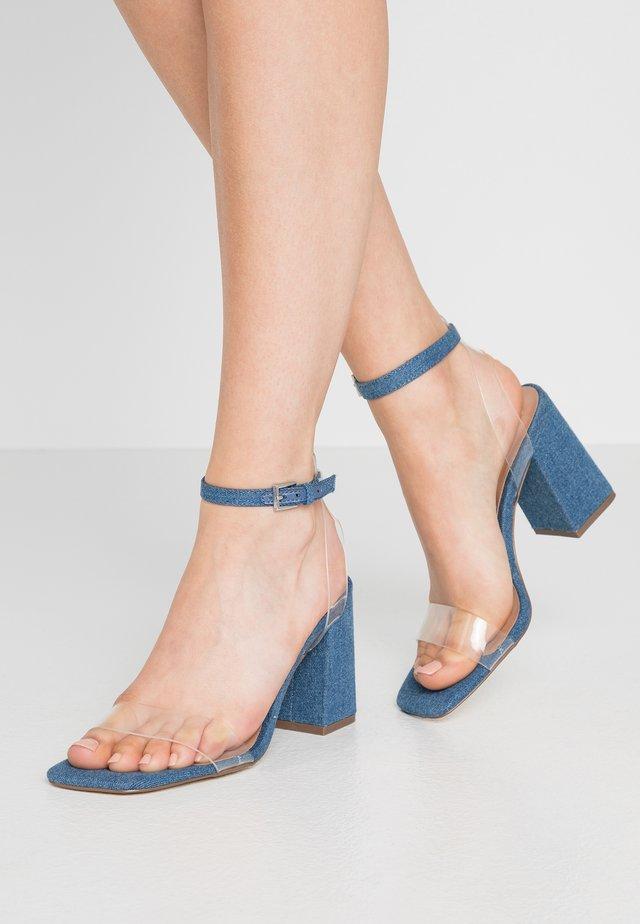 SYRE - Sandaler med høye hæler - medium blue