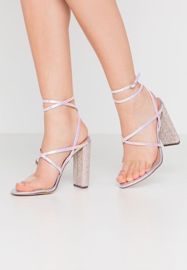 TIARAA - High Heel Sandalette - metallic/multicolor