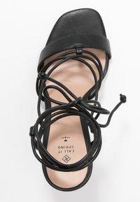 Call it Spring - TINANOVA - Sandales à talons hauts - black - 3