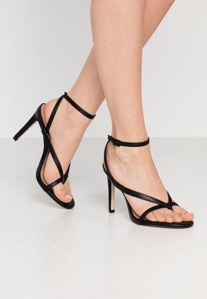 ZELDAA - Sandalen met hoge hak - black