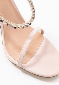 Call it Spring - SILVERTIP - Sandalias de tacón - light pink - 5