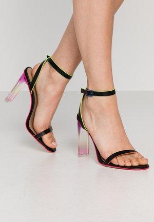 HAYVENN - Sandály na vysokém podpatku - black