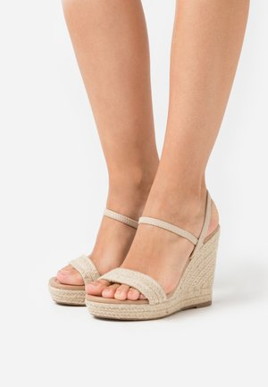 HANENBURG - High heeled sandals - natural