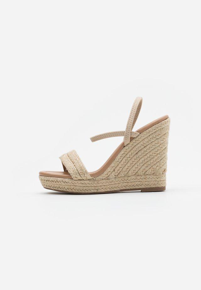 HANENBURG - Sandaletter - natural