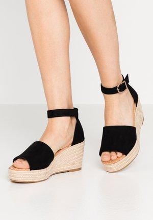 LIBERTII - Sandaler med høye hæler - black