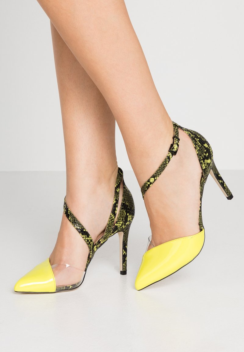 Call it Spring - MARYAM VEGAN - High heels - bright yellow