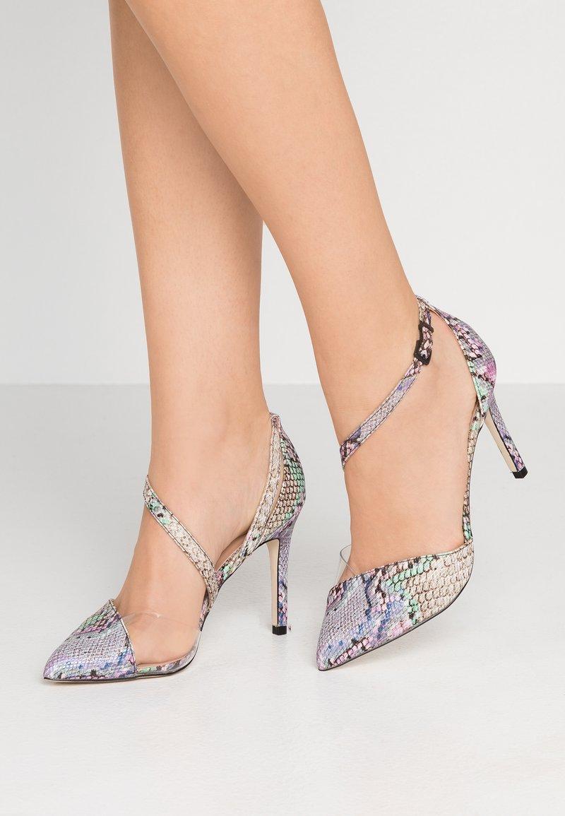 Call it Spring - MARYAM VEGAN - Zapatos altos - metallic multicolor