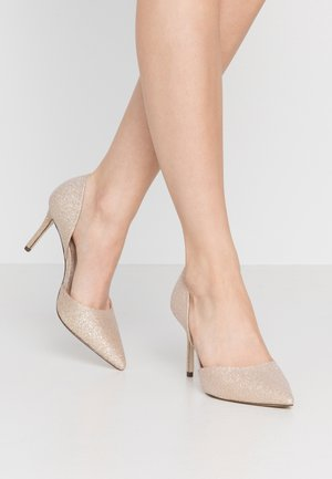 TELANA - Zapatos altos - rose gold