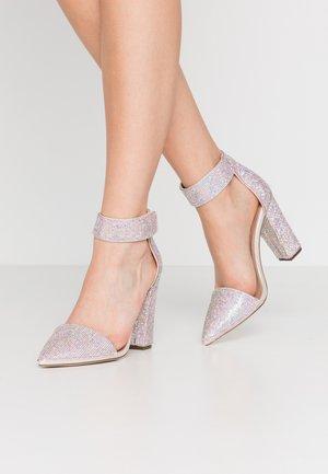 BERINNA - High heels - metallic multicolor