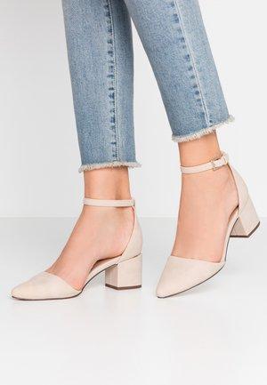 DRIZZY - Classic heels - bone