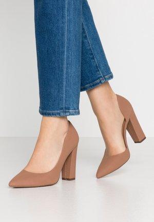 EMMA - High heels - dark beige
