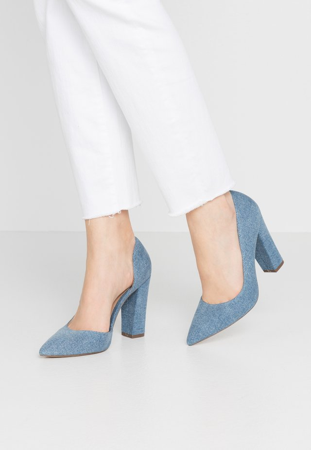 EMMA - High Heel Pumps - medium blue