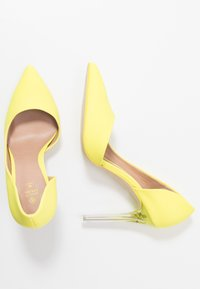 Call it Spring - DEVANNA - Hoge hakken - bright yellow - 3