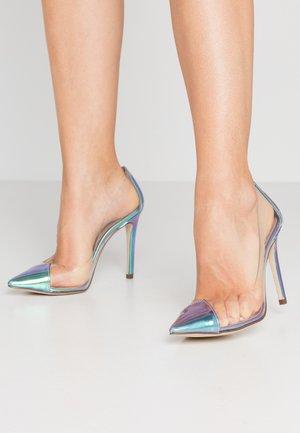 ALEXXIA - Zapatos altos - teal