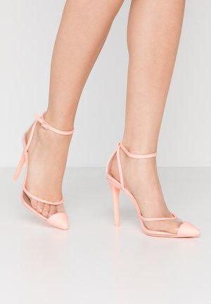 BISOUSS - Zapatos altos - light pink